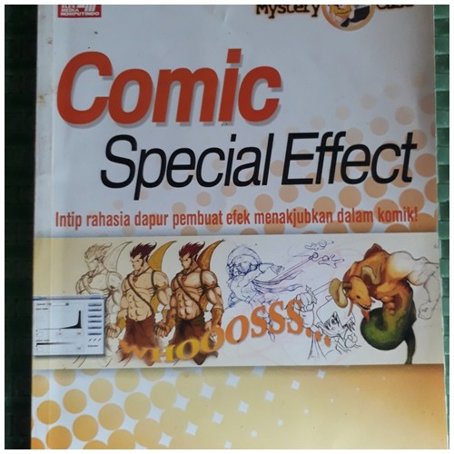 BUKU MYSTERY CASE : COMIC SPECIAL EFFECT