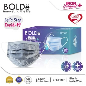 Iron Surgical Mask 3Ply isi