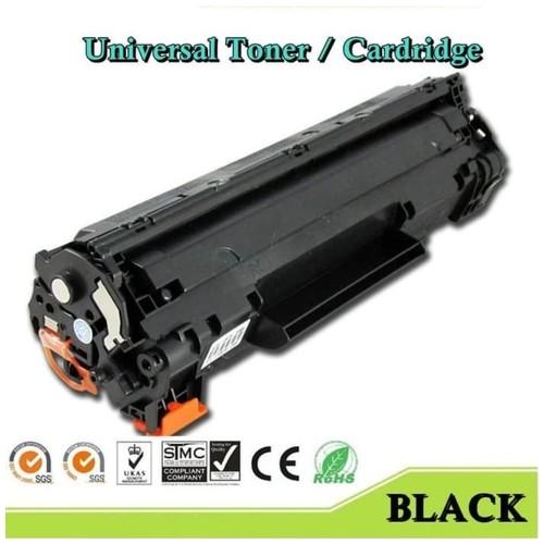 Toner Universal CB435/436A/CE285/278A Tinta Printer Cartridge Hitam