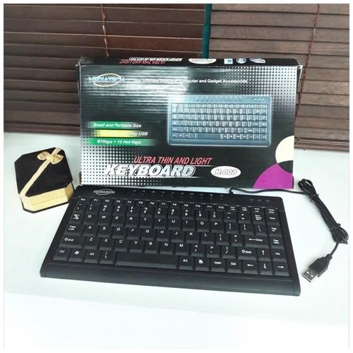 Mediatech Keyboard Ultra Tipis dan Ringan K-008