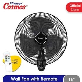 Cosmos Wall Fan 16in Remote