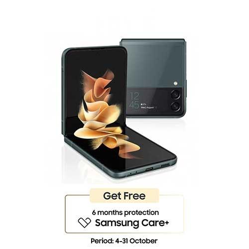 Samsung Galaxy Z Flip3 (RAM 8GB/128GB) - Green