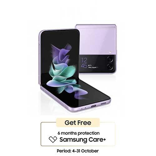 Samsung Galaxy Z Flip3 (RAM 8GB/256GB) - Lavender
