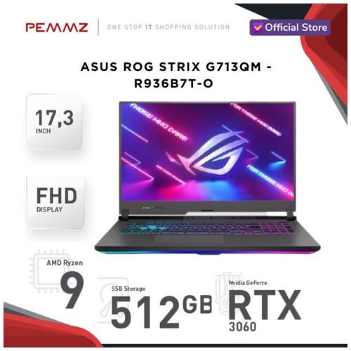 ASUS ROG STRIX G713QM - R936B7T-O - R9-5900HX - RTX3060 - 144Hz