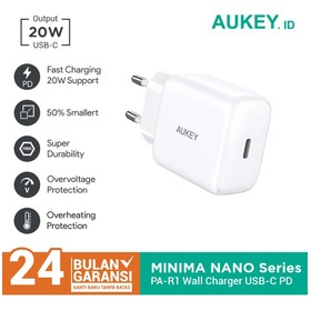 Charger Aukey PA-R1 White 2