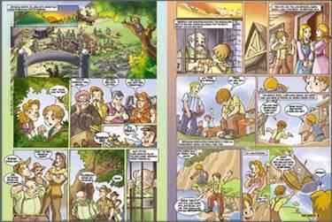 mengetengahkan cerita cerita klasik ternama dari segala penjuru dunia