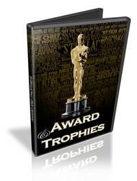 bentuk plakat dan piagam penghargaan dari berbagai ajang penghargaan ...