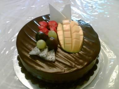 Gambar diatas adalah Chocolate Fudge Cake ukuran 24 cm Rp. 220.00 ...