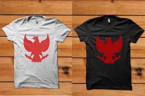 Jual Kaos Garuda Merah