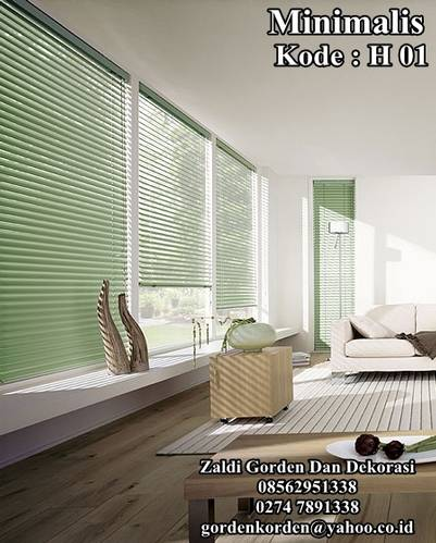 Jual Gorden Horizontal blind