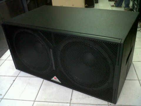 "SW-218-R DOUBLE 18"" SUBWOOFER 2000W SOUNDRENALINE"