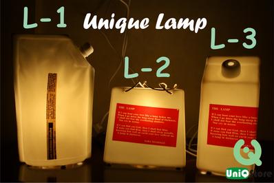 Jual Unique Lamp - Lampu Meja dengan Bentuk Unik
