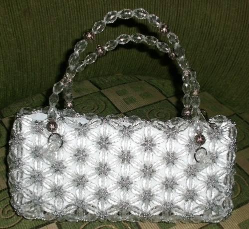 dijual tas cantik dari bahan acrylic impor 100% handmade. sangat ...