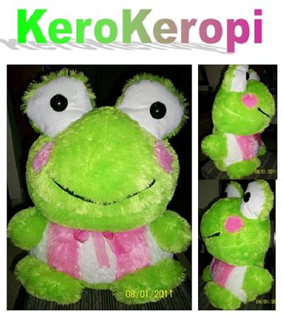Jual Boneka KERO-KEROPI
