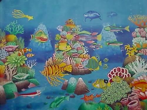 58 Tren Gaya Contoh Lukisan Haiwan Laut Gambar Lukisan