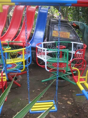 Jual Mainan Anak Outdoor - AYUNAN ANAK SINGLE