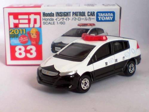 Jual Tomica No 83 Honda Insight Patrol Car ( New Item 2011 )