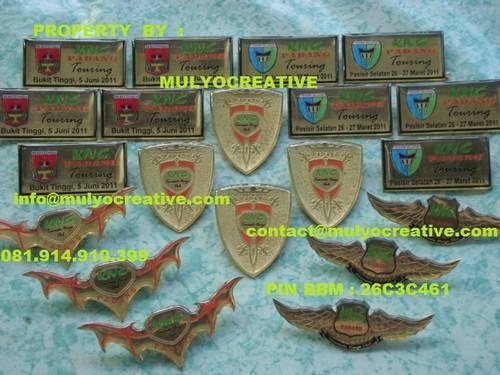Jual Lencana, Lencana Kuningan, Pin, Badge, Atribut Pin Coating, Pin Kuningan, P...
