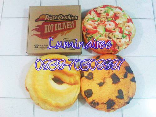 Jual BANTAL PIZZA, CHOCO CHIPS, BUTTER COOKIES MURAH, EMPUK, LUCU