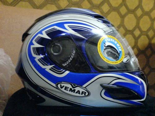 Jual Helm Racing Vemar VSR Diadem Special Edition 2005. Made in Italy