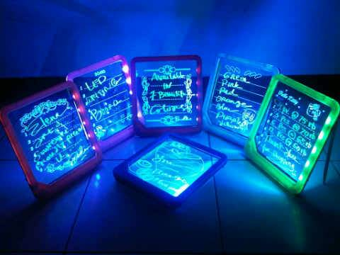 Jual LED WRITING BOARD -PAPAN TULIS NYALA (S0082)