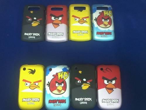 Jual Hard case angry bird untuk blackberry gemini dan onyx
