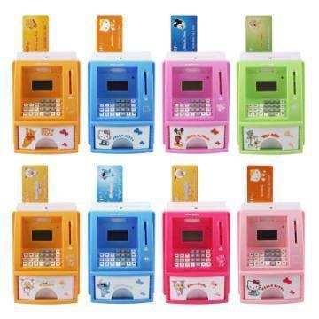 ATM Bank Hello Kitty,Winnie Pooh,Lilo Stitch,Doraemon,Mickey 100rb/pcs ...