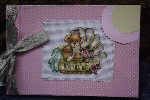 Direct Link For Product Jual Baby Album Xstitch Handmade