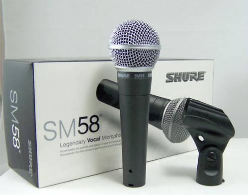 Jual MICROPHONE SHURE SM58 HARGA MIRING