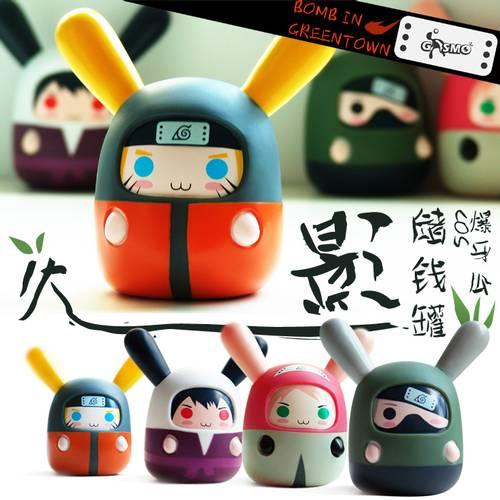 Dinomarket pasardino ninja gasmo bank box for Gasmo