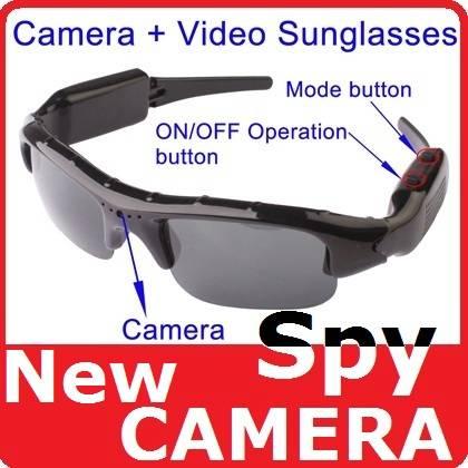 Jual Spy Camera HD Kacamata lensa bening