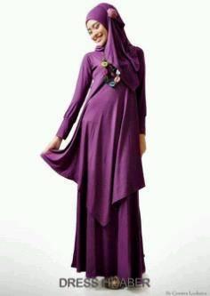 Download image Muslimah Dress Hijaber Hijau Dinomarket Pasardino ...