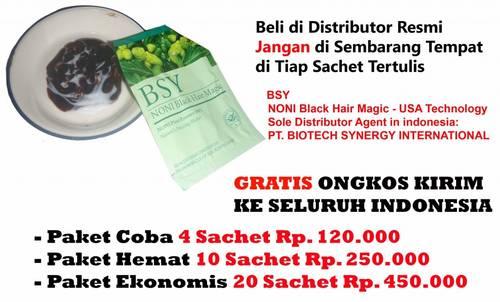 Jual Distributor RESMI BSY Shampo Noni ANEKA WARNA( HITAM / BLACK,CLARET,BLONDE,...