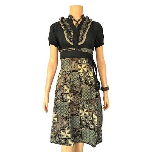 Model Baju Batik Remaja Dress