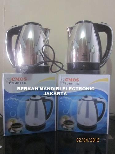 Jual teko listrik cmos / electric cordless kettle cmos