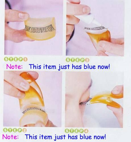 how to use eyelash applicator