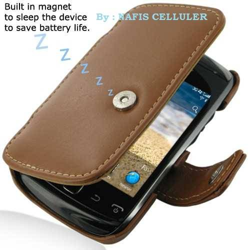 Jual Pdair Leather Case Bifold BB Orlando 9380
