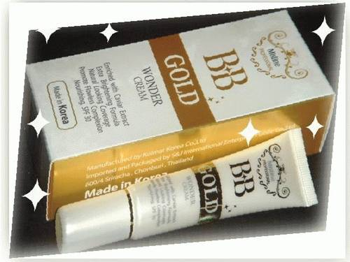 dinomarket pasardino  mistine bb gold wonder cream korea
