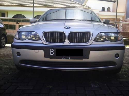 Jual BMW 325i Facelift E46 Silver 2004 plat B,low km, Mulus Terawat
