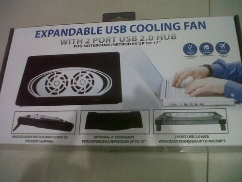 Direct Link for Product Jual cooling pad fan for Notebook and Laptop ...