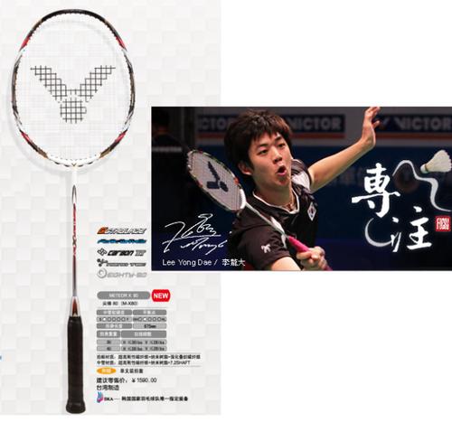DINOMARKETR PasarDinoTM Raket Badminton Victor METEOR