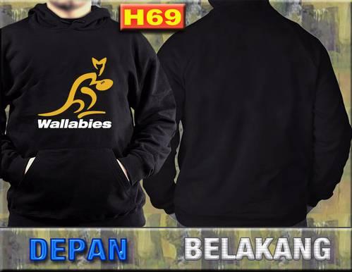 gambar jaket jumper on DINOMARKET® : PasarDino™-Jaket Wallabies Australia hoodie Jumper