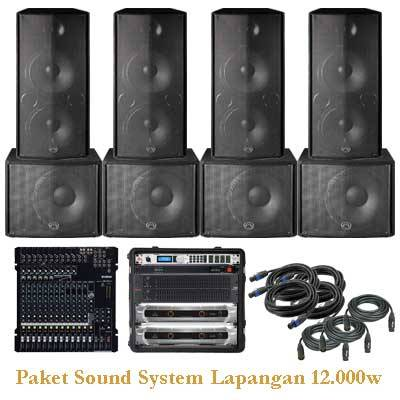Jual Paket Sound System Lapangan Professional