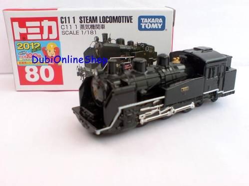 Jual Tomica No 80 C11 ! Steam Lokomotive