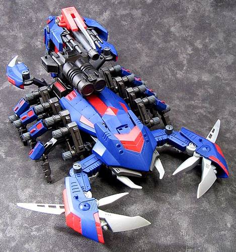 The gallery for --> Zoids Death Stinger