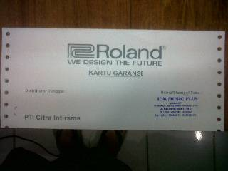 Jual Keyboard ROLAND BK-5,  NEW 100%...