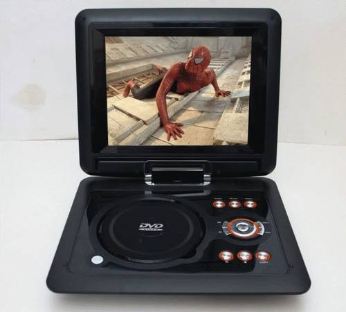 Jual DVD Portable + TV tuner 7,5' Yetosa