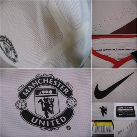 Jual [CUCI GUDANG] Jersey PLAYER ISSUE: MAN UNITED AWAY 2012/2013