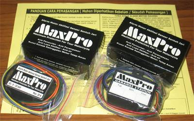 Jual Alarm Motor MaxPro Anti Pencurian - Anti Perampasan