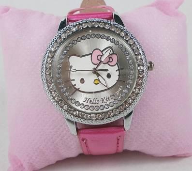Hello Kitty Central Face, dinomarket pasardino jam tangan hello kitty